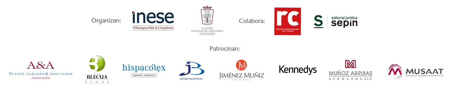 Patrocinadores del Congreso de Resposnabilidad Civil y Seguro 2020
